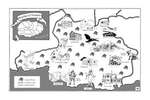 Joshua 1 Map
