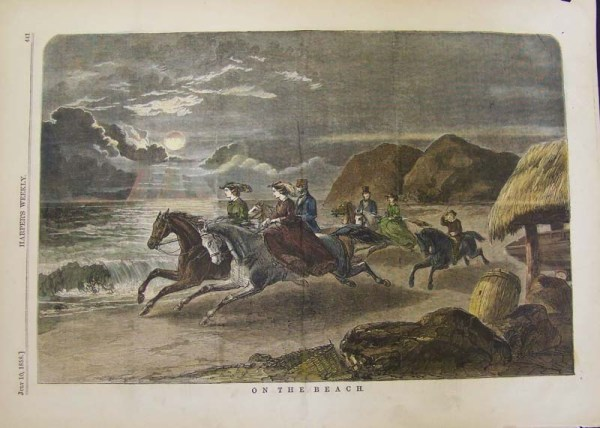 riders on beach