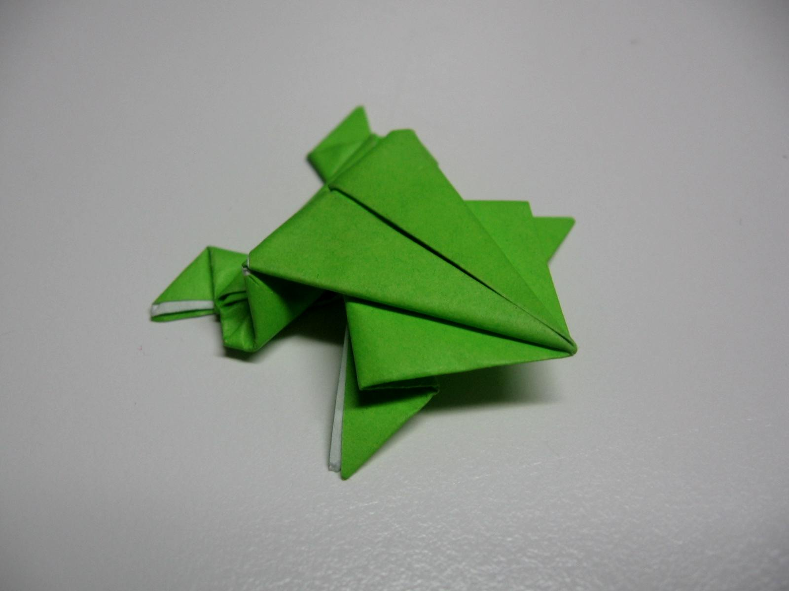 origami jumping frog diagram 1996 nissan maxima bose stereo wiring pin on pinterest