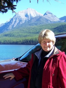 Donna in Glacier National Park 2016
