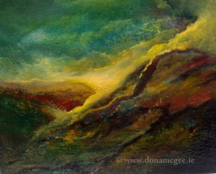 Life Force II - Oil on block canvas - 30 x 24 cms