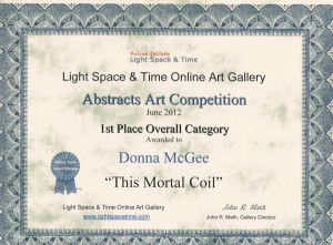 LST Abstract 1st Place Overall Category - Donna McGee