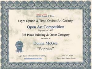 LST 3rd Place Painting & Other Category Competition - Donna McGee