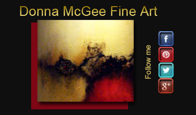 Donna McGee Fine Art Business Card