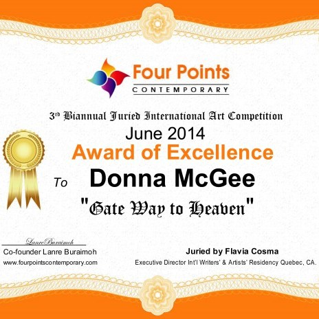 Art Awards - Award of Excellence - Gateway to Heaven, Donna McGee