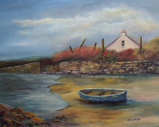 """art, Galway Hideaway 16 x 20"""""""