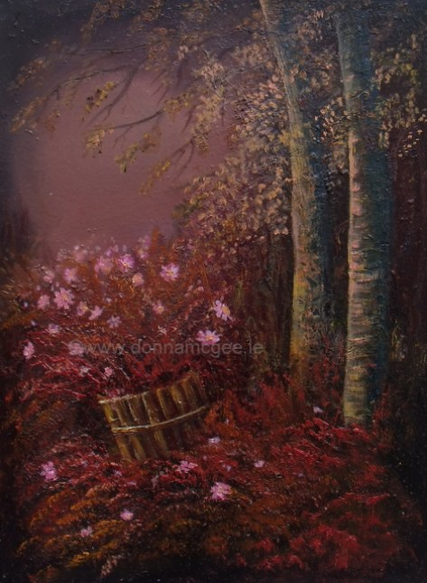Twilight 16x12 Oil on canvas