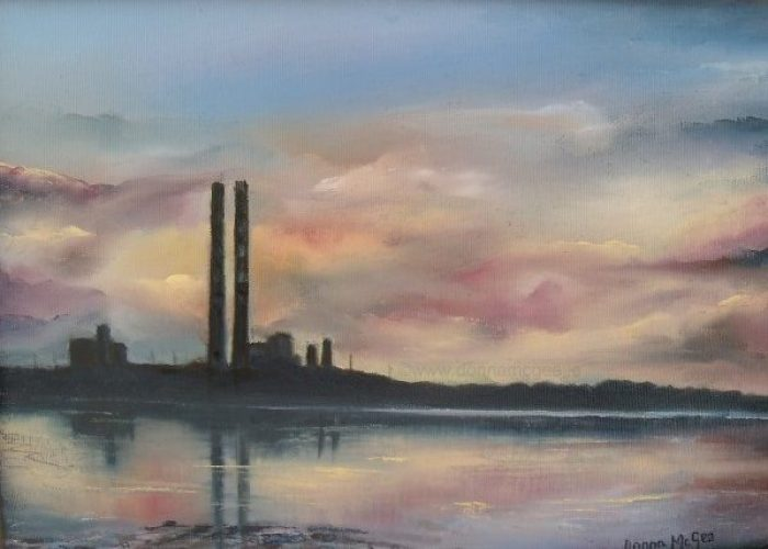 The Pigeon House Poolbeg Generating Station Dublin