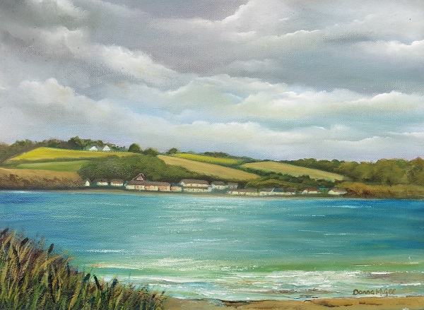Passage East to Arthurstown - Oil on canvas 16 x 12 inches