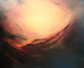 Transcendence Oil Painting by Donna McGee