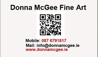 QR code Donna McGee Fine Art