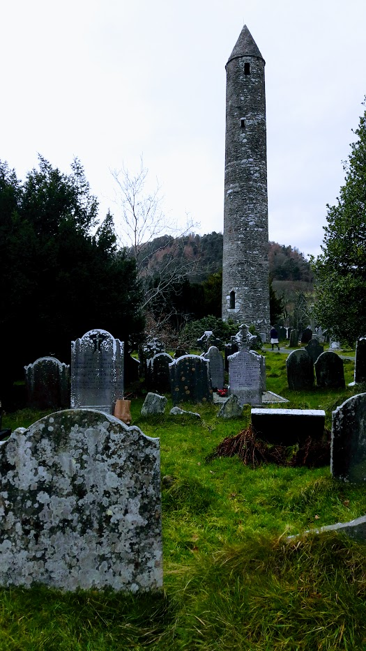 The Round Tower at :Glendalough,