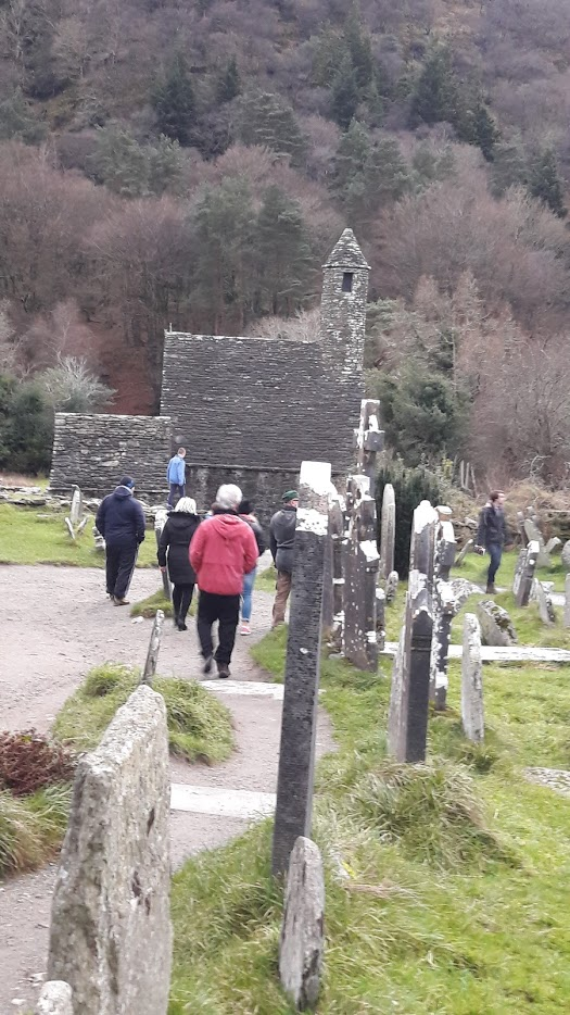 St. Kevins Monastery at Glendalough,