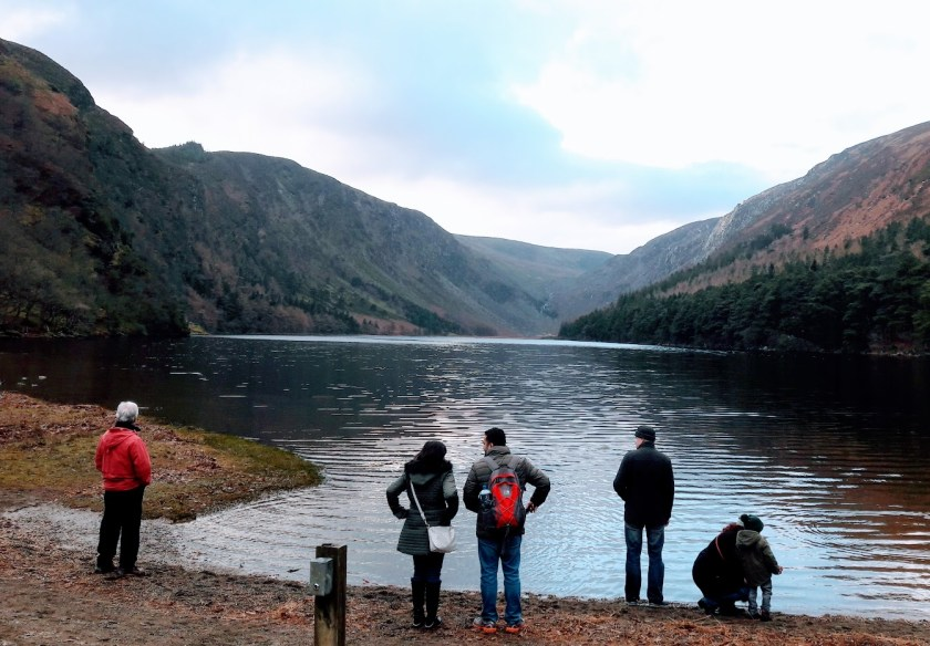 A view of Upper Lake Glendalough