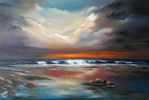 The Dawning 20 x 30 Inches - Oil on Canvas