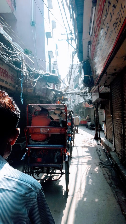 A nightmare for an electrician in Old Delhi