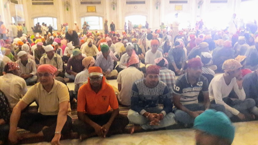 Sikh temple - waiting patiently