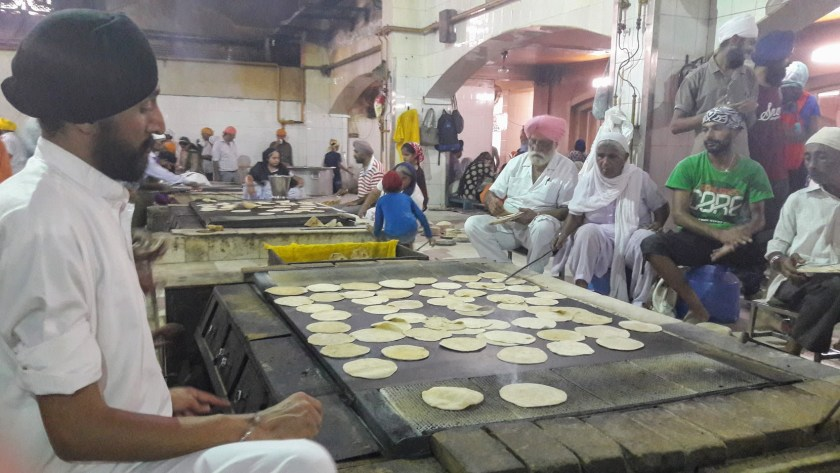 Sikh Temple - Pitta breads