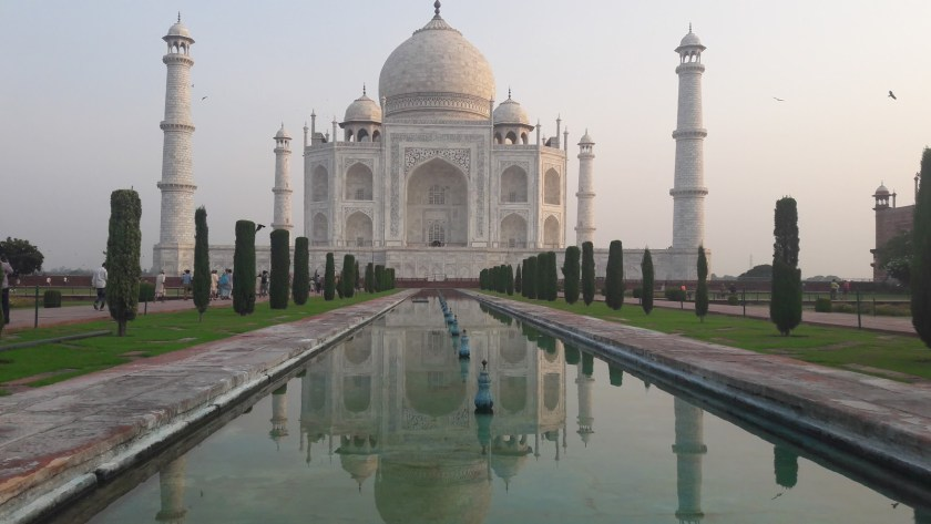 The Taj Mahal in all its splendour