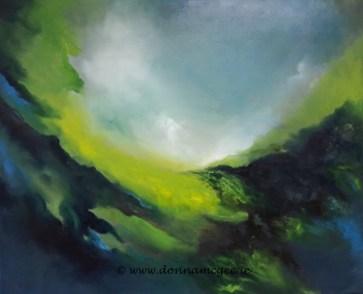 Delhi Rainstorm - Oil on Canvas