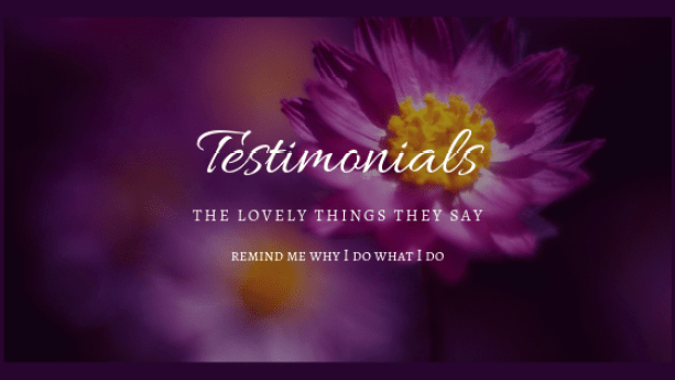 Testimonials - the nice things they say - Donna McGee Art