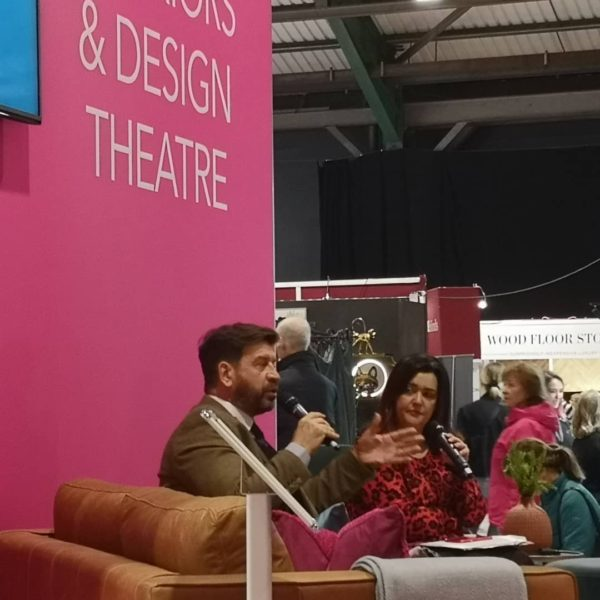 Nick Knowles at Ideal Home Show