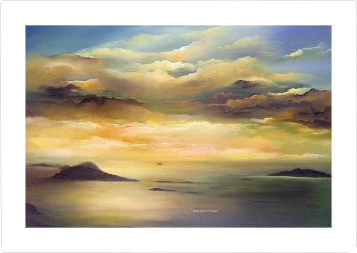 Blasket Islands 30 x 20 cms Giclee Print