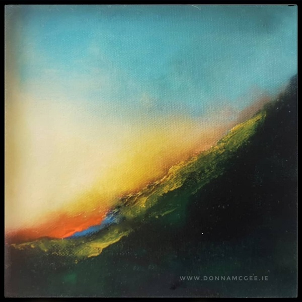 Dawn Kiss limited edition abstract print 10 x 10 inches