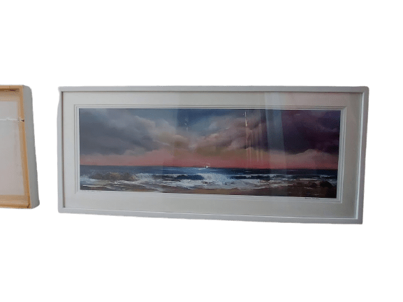 sea to shore painting Achill Island oil painting in limited edition