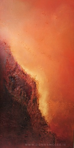 Genesis abstract oil painting