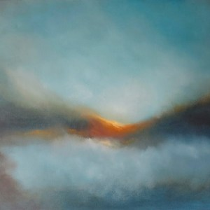 skyfall abstract surreal ethereal oil painting