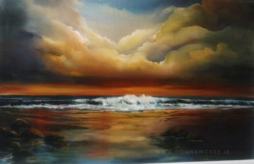 Eternal Light 20x30 inch Oil on canvas