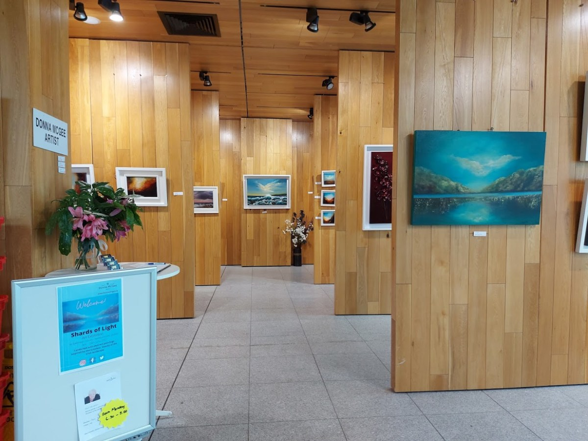 summer update - shards of light solo exhibition gallery view