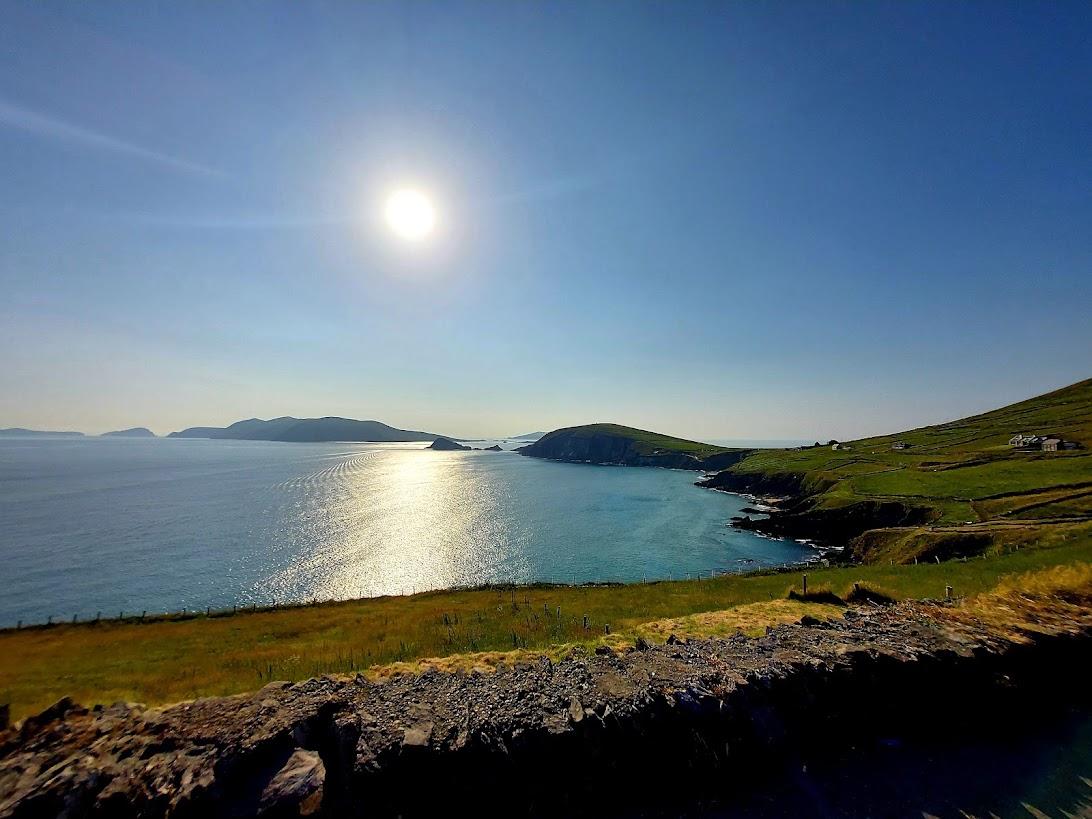 view of the blasket islands co. kerry irish landscape