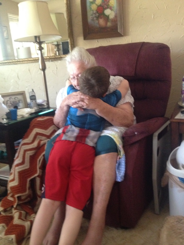 Family Caregivers care for aging parents along with grandchildren.