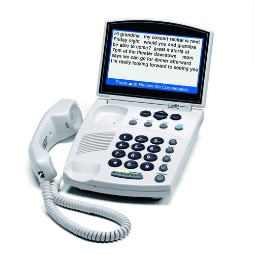 CapTel 840i captioned telephones