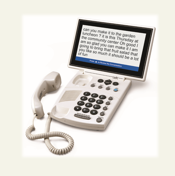 CapTel 880i captioned telephones