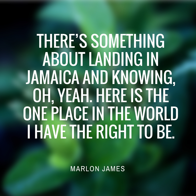 Marlon James on the joy of returning home, to Jamaica