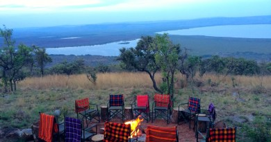 Glamping at the Karenge Bush Camp