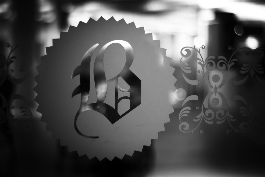 b is for blackletter