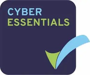 Photo of Donoghue Solicitors' Cyber Essentials accreditation badge.
