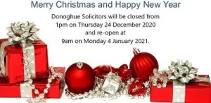 Merry Christmas from Donoghue Solicitors