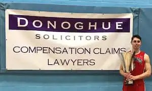 Photo of Jack Hudson, former club captain at Liverpool Basketball Club and lawyer at Donoghue Solicitors.