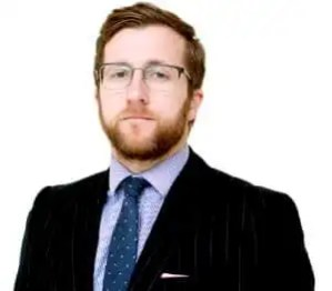 Photo of Kevin Donoghue, Solicitor who discusses militarisation of the boys in blue.