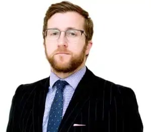 Photo of Kevin Donoghue, solicitor, who considers if the Gatwick Airport drone couple are entitled to compensation.