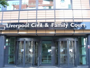 Liverpool Civil and Family Court is only four minutes' walk from Donoghue Solicitors Liverpool.