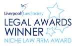 Liverpool Law Society Niche Law Firm Award Winners Logo