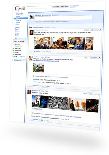 Novo! Google Buzz no Gmail