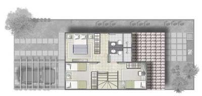 platan 20de 20casa 203 20quartos1 Fotos e Plantas de Casas Simples e Apartamentos