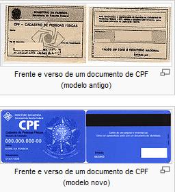 cpf1 Conheça o numero de seu CPF, saiba mais sobre seu documento